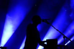 Caribou electronic music band live performance at Primavera Sound 2015 Stock Photo