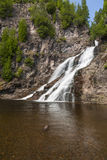 Caribou Falls Royalty Free Stock Photography