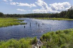 Caribou Lake - Fundy Stock Image