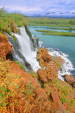 Caribou National Forest Waterfall Idaho Stock Photography