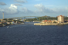 The Caribs. Curacao. This island attracts tourists with its picturesque white sand beaches, located in the small,  coves, but is also considered one of the best Royalty Free Stock Photo