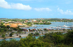 The Caribs . The Island Of Curacao Royalty Free Stock Photo