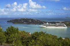 The Caribs. The Island Of Saint Lucia. Royalty Free Stock Images