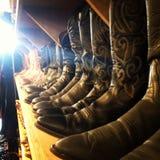 Caricamenti del sistema del cowboy Fotografie Stock