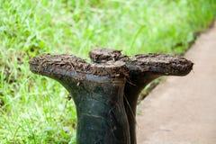 Caricamenti del sistema di gomma sporchi Fotografia Stock