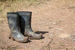 Caricamenti del sistema di gomma sporchi Fotografie Stock Libere da Diritti