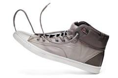 Caricamento del sistema della scarpa da tennis Fotografia Stock
