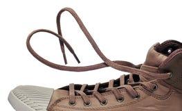 Caricamento del sistema della scarpa da tennis Immagini Stock