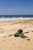 Caricamento del sistema sulla spiaggia Fotografia Stock Libera da Diritti