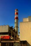 Caricamento dell'inceneratore dei rifiuti Fotografia Stock