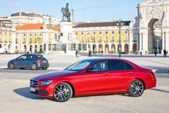 Caricatore classe e 2016 di Mercedes-Benz Immagini Stock
