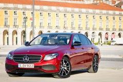 Caricatore classe e 2016 di Mercedes-Benz Immagini Stock Libere da Diritti