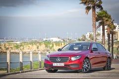 Caricatore classe e 2016 di Mercedes-Benz Fotografia Stock