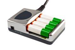 Caricatore con la batteria Immagine Stock