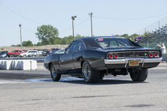 Caricatore di Dodge sulla pista Fotografia Stock