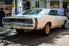 Caricatore di taglia media R/T, 1968 di Dodge dell'automobile Immagine Stock
