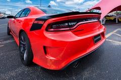 Caricatore Hemi Daytona, crociera di sogno di Woodward, MI di 2017 Dodge Fotografie Stock