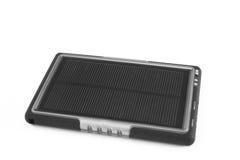 Caricatore mobile moderno del telefono della pila solare Fotografie Stock Libere da Diritti