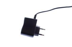 Caricatore per i dispositivi USB con cavo ed il connettore fotografia stock libera da diritti