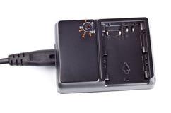 Caricatore per le batterie dello litio-ione Fotografie Stock Libere da Diritti