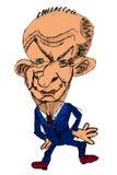 Caricatura da cor - homens de negócios dos desenhos animados Fotografia de Stock