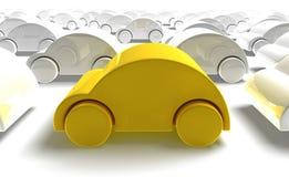 Caricatura dell'automobile Fotografia Stock