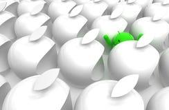 caricatura verde del android 3D Immagine Stock Libera da Diritti