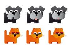 Caricature animals Stock Photo