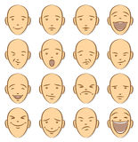 Caricature Faces Royalty Free Stock Photography