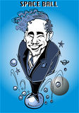 Caricature series: Mel Brooks Stock Photos