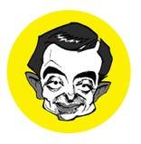 Caricature series - Mr. Bean vector illustration