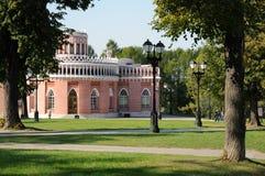 caricino莫斯科公园 免版税库存照片