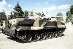 Carico, automobile, pistola della macchina militare dell'arma del carro armato del camion grande Immagini Stock