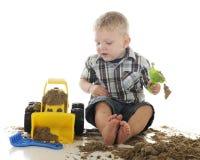 Carico del bulldozer Fotografia Stock