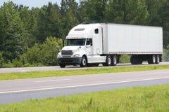 Carico del camion Fotografia Stock