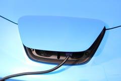 Carico dell'automobile elettrica Fotografie Stock Libere da Diritti
