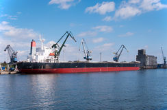 Carico della nave Fotografia Stock