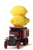 Carico di camion dei limoni Fotografia Stock Libera da Diritti
