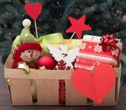 Caridad de la Navidad Fotografía de archivo libre de regalías