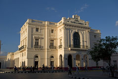 Caridad Theatre, Santa Clara, Cuba Royalty Free Stock Photography