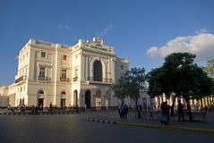 Caridad Theatre, Santa Clara, Kuba obraz royalty free