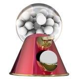 Carie dentaire de Sugar Gum Balls Candy Dispenser Bubblegum Photographie stock libre de droits