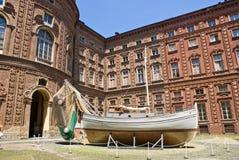Carignano Palace, Turin Royalty Free Stock Photos