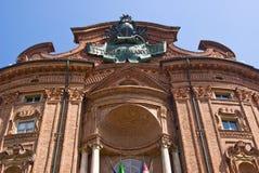 Carignano Palace, Turin Royalty Free Stock Photo