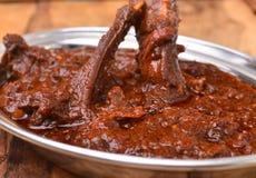 Caril da carne de carneiro fotografia de stock royalty free