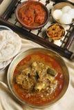 Caril da carne de carneiro de Pakku - um caril típico da carne de carneiro de Sikkim. Imagens de Stock Royalty Free