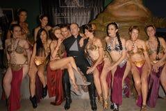 Caril de Adrianne, Alicia Arden, Jabba, Paula LaBaredas, Shae Foto de Stock Royalty Free