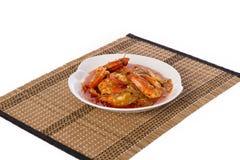 Caril do camarão foto de stock royalty free