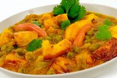Caril do vegetariano Imagem de Stock