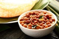 Caril dos grãos-de-bico Channa Masala imagens de stock